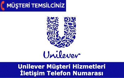 Unilever Müşteri Hizmetleri Telefon İletişim Numarası