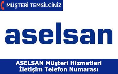 Aselsan Müşteri Hizmetleri ve İletişim Telefon Numarası