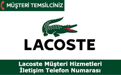 Lacoste Müşteri Hizmetleri İletişim Telefon Numarası