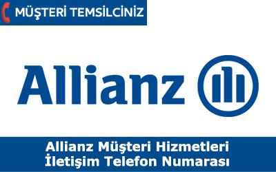 Allianz Sigorta Müşteri Hizmetleri İletişim Telefon Numarası