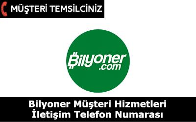 Bilyoner Müşteri Hizmetleri İletişim Telefon Numarası
