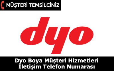 Dyo Boya Müşteri Hizmetleri İletişim Telefon Numarası