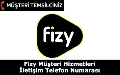 Fizy Müşteri Hizmetleri İletişim Telefon Numarası