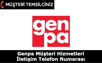 GENPA Müşteri Hizmetleri İletişim Telefon Numarası