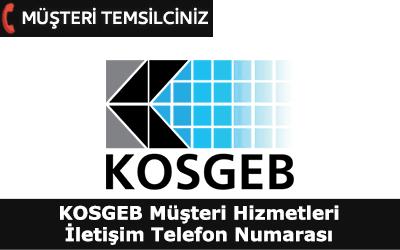 Kosgeb Müşteri Hizmetleri İletişim Telefon Numarası