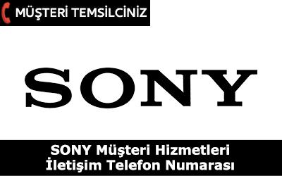 Sony Müşteri Hizmetleri İletişim Telefon Numarası