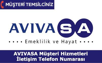 Avivasa Müşteri Hizmetleri İletişim Telefon Numarası