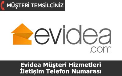 Evidea Müşteri Hizmetleri İletişim Telefon Numarası