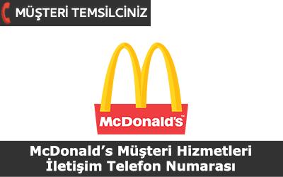 McDonalds Müşteri Hizmetleri İletişim Telefon Numarası