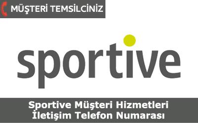 Sportive Müşteri Hizmetleri İletişim Telefon Numarası