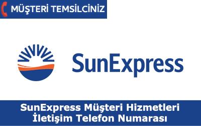 Sun Express Müşteri Hizmetleri İletişim Telefon Numarası