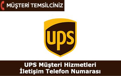 UPS Kargo Müşteri Hizmetleri İletişim Telefon Numarası