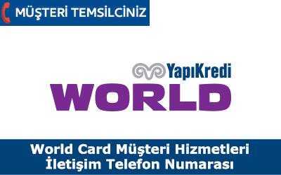 Worldcard Müşteri Hizmetleri İletişim Telefon Numarası