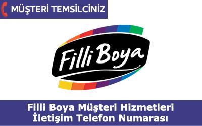 Filli Boya Müşteri Hizmetleri İletişim Telefon Numarası