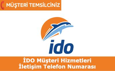 İDO Müşteri Hizmetleri İletişim Telefon Numarası