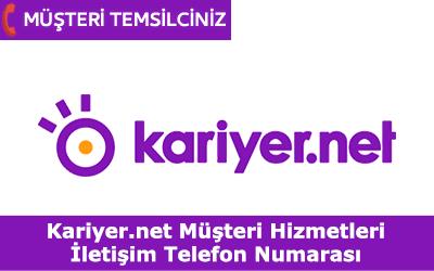 Kariyer.net Müşteri Hizmetleri İletişim Telefon Numarası