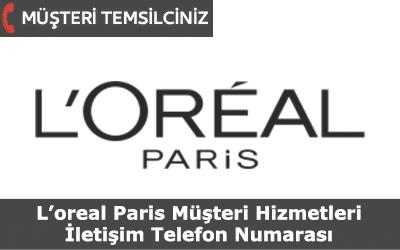 Loreal Paris Müşteri Hizmetleri İletişim Telefon Numarası