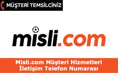 Misli.com Müşteri Hizmetleri İletişim Telefon Numarası