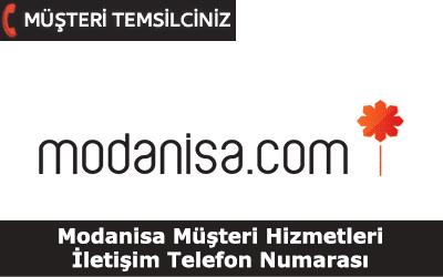 Modanisa Müşteri Hizmetleri İletişim Telefon Numarası