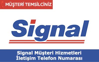 Signal Müşteri Hizmetleri İletişim Telefon Numarası