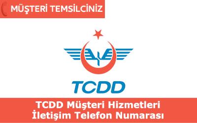TCDD Müşteri Hizmetleri İletişim Telefon Numarası