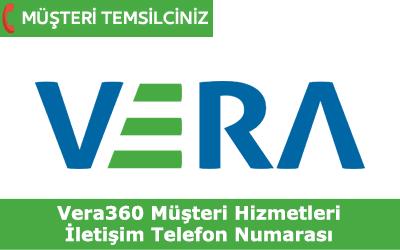 Vera360 Müşteri Hizmetleri İletişim Telefon Numarası